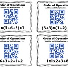 QR Code Task Cards: Order of Operations - Addition and Mul
