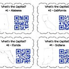 QR Code Task Cards: State Bundle Pack