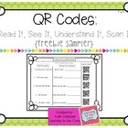 QR Codes: Read It, See It, Understand It, Scan It Activity
