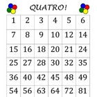 QUATRO! A Fun Multiplication Facts Game (Connecting 4 with