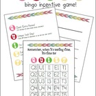 """QUIET"" Bingo Incentive Whole Class Group Reward System!"