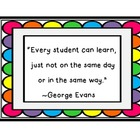EVERY STUDENT CAN LEARN QUOTE BY GEORGE EVANS