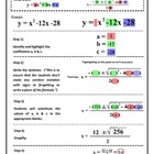 Quadratic Formula Lesson