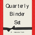 Quarterly Binder Set