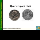 Quarters for Haiti -K-5 Math (Spanish Version)
