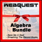 Quest For Knowledge - Algebra Bundle - 2 Webquests