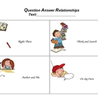 Question Answer Relationships (QAR) Template