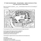 Question Bank - Social Studies - Native Americans (5 - 9)