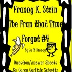 Question Sheet - Franny K. Stein #4 - The Fran That Time Forgot