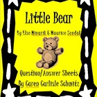 Question Sheet - Little Bear by Else Holmelund Minarick