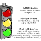 Questioning Stoplight Poster