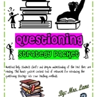 Questioning Strategy Packet (For Elementary Students)