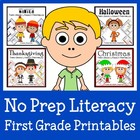 Quick Common Core Literacy Bundle - The Complete Set (firs