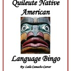 Quileute Native American Language Bingo