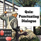 Quiz - Punctuation Dialog