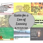 Quotes for a Love of Learning