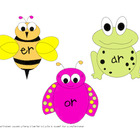 R Controlled Vowels: A Springtime Literacy Center