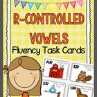 R-Controlled Vowels Fluency Task Cards - AR, ER, IR, OR, and UR