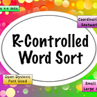 R Controlled Word Sort
