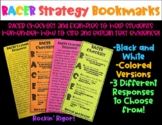 RACER Strategy Bookmarks