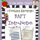 RAFT (Role, Audience, Format, Topic) Introduction, Templat