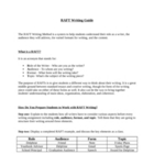 "RAFT Writing Guide-Over 130 ""Format"" ideas and Grading Rubrics"
