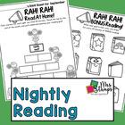 RAH! RAH!  Read At Home!  A Nightly Reading recording tool