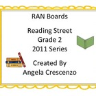 RAN Boards Reading Street Grade 2 2011 Series
