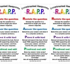 RAPP Constructed Response Strategy Bookmarks