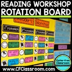 READER WORKSHOP ROTATION BOARD (classroom management/organ