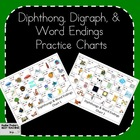 READING Common Core Aligned Phonics Diphthong and Word End