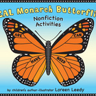 REAL Monarch Butterflies Nonfiction {Read &amp; Write Facts, 3