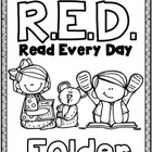 RED (Read Every Day) Folder and Reading Log