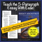 *REVISED* Essay Architect Writing System: Teaching the Fiv