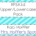 RFS.K.1.d Uppercase and Lowercase Intervention set