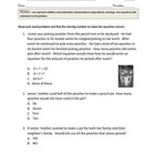 RICE Problem Solving Strategies for math word problems