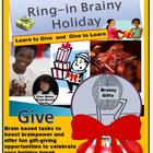 RING-IN BRAINY HOLIDAY