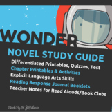 Wonder by R.J. Palacio: A Teacher Guide (Includes Differen