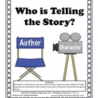 RL.1.6 First Grade Common Core Worksheets, Activity, and Poster