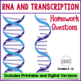 RNA (Ribonucleic Acid) Homework Assignment Transcription