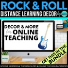 ROCK AND ROLL THEME CLASSROOM KIT ~ PRINTABLES &amp; MORE