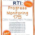RTI: 175 CBM&#039;s for Progress Monitoring Foundational Numera