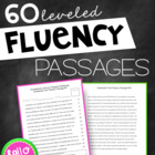 RTI: 60 Fluency Passages for Progress Monitoring Reading S
