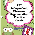 RTI Independent Phoneme Segmentation Practice
