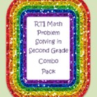 RTI Math Problem Solving In Second Grade Combo Pack