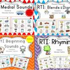 RTI : Phonemic Awareness BUNDLE