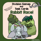 Rabbit Race: Spring Division Games, and Task Cards