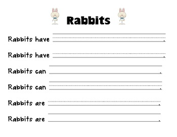 Rabbits Read for Information