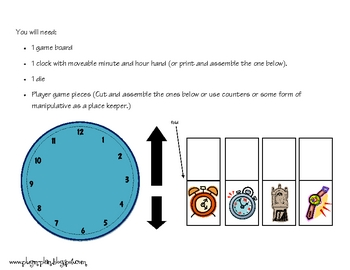Race Against Time (game board)