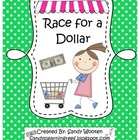 Race to a Dollar Math Station Game